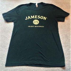 Jameson Irish Whiskey Forest Green Mens Tee Meduim